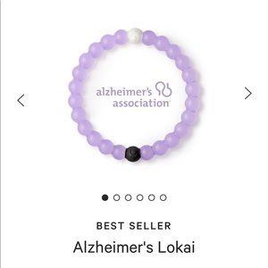 purple Alzheimer lokai bracelet